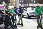 The Portland Bureau of Transportation hosted an e-scooter safety event on Thursday, Sept. 13, 2018, as part of its ongoing education efforts during PBOT's Electric Shared Scooter Pilot Program.