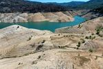 Hotter temperatures are leading to emptier reservoirs across the West, like Lake Oroville in Northern California.