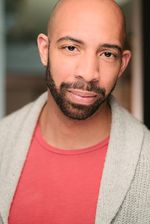 """Damien Geter, actor and singer, has been seen in several Portland Opera productions, and on NBC-TV's """"Grimm"""", among other productions. He was cast in the role of Nick, for a local production of """"Who's Afraid of Virginia Woolf?"""""""