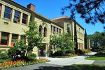 File photo of Churchill Hall on the campus of Southern Oregon University in Ashland, Ore.
