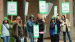 AFSCME members in Lane County have been on strike for seven days.