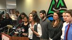 Multnomah County Chair Deborah Kafoury announces the county's support for the young people suing the state and federal governments over climate change.
