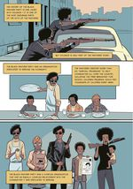 """A panel in the first pages of The Black Panther Party: An Graphic Novel History describes the party as """"a complex organization that had an equally complex relationship with the communities it was dedicated to serving."""""""