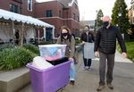More than 800 undergraduate students are moving into on-campus housing this week at University of Portland.