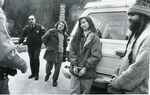 Protesters arrested  on March 31, 1989 during forest protests on the Willamette National Forest east of Salem.
