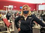 Linda Rackner with PRO Club in Bellevue, Wash., says the enormous, upscale gym has adapted relatively easily to the new coronavirus rules. The fitness club's physical size, extensive budget and technology have helped staffers maintain a fairly normal experience for their members.