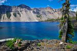 Crater Lake in Southern Oregon.