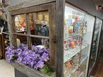 At the Redmond Farmer's Co-op Antique Mall on Dec. 18, 2020, the case on the right offers for sale a number of Nazi symbols and caricatures promoting racist stereotypes among other kinds of memorabilia.
