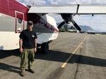John Spencer has worked as a smokejumper for 34 seasons. This year, he jumped his 100th mission. Smokejumping started in Winthrop and has remained a part of the wildfire economy in the valley.