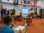 Teacher Austyn McNew's second-grade class at Fort Vannoy Elementary School in Grants Pass.