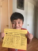 Gabe Gutierrez is a fourth grader at McNary Heights Elementary in Umatilla. His English as a second language class has moved online for the rest of the year.