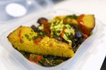 A popular item on the menu at Meals 4 Heels is The Magic City, which features black-eyed pea fritters and vegan and gluten-free cornbread. Nikeisah Newton founded Meals 4 Heels in 2019 as a meal delivery service catering to Portland's sex worker community. Newton has since started serving food from a space at The Redd.