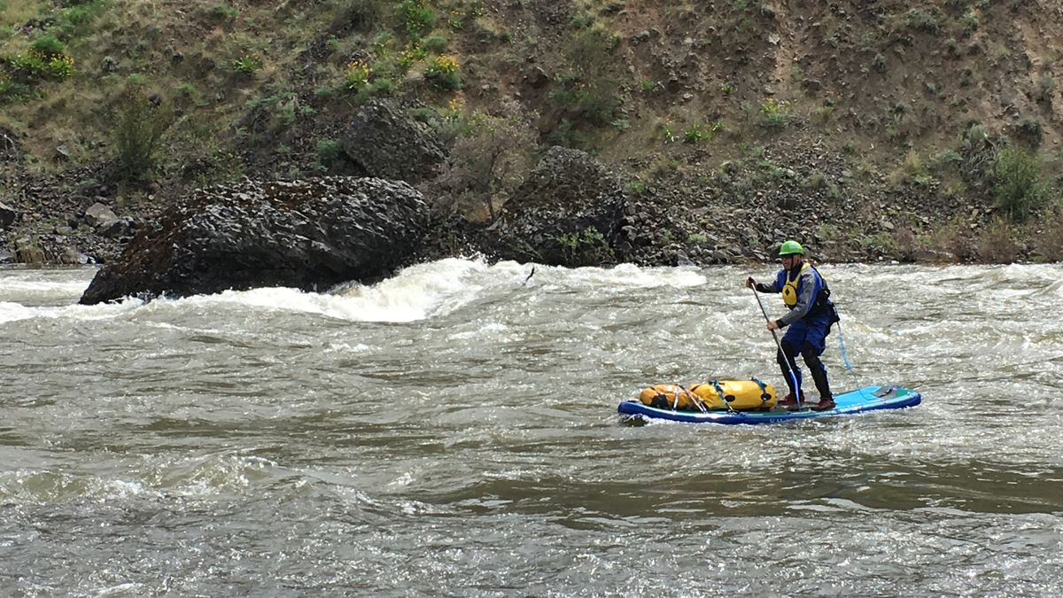 Next-level paddleboarding: Embracing the whitewater of Oregon's John Day River