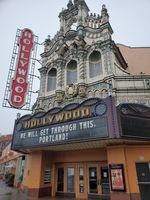 The Hollywood Theatre in NE Portland, like all indoor theatres in Oregon, has been shut down since mid-March.