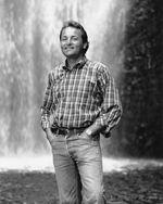 """Steve Amen from the first season of """"Oregon Field Guide"""" in 1989."""