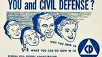 An informational pamphlet distributed by the Civil Defense Administration.