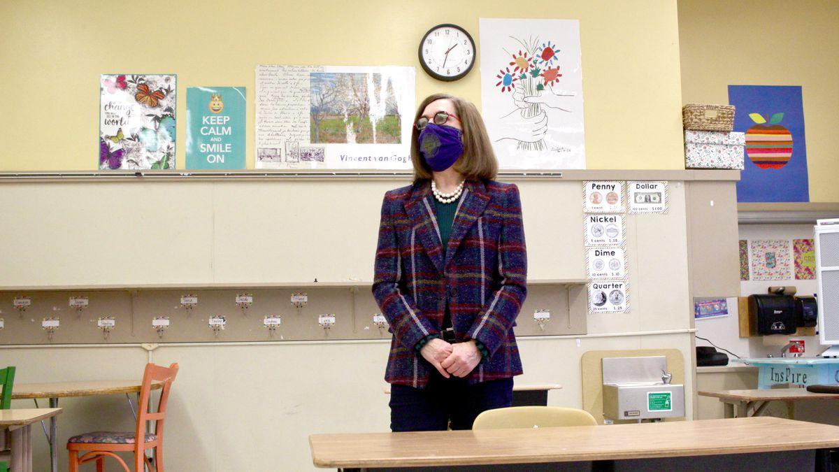 Gov. Kate Brown blasts Oregon lawmakers' school funding plan