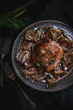 Chicken, Pistachio and Caramelized Fennel Salad