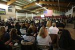 Hundreds of people attended an event held by Jeanette Finicum, one year after the death of her husband, LaVoy Finicum.