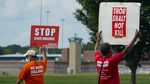 Protesters gather near the the federal prison complex in Terre Haute, Ind., on Aug. 28, 2020, ahead of the scheduled execution of Keith Dwayne Nelson, who was convicted of kidnapping, raping and murdering at 10-year-old Kansas girl. Democrats are pushing new legislation to outlaw federal executions.