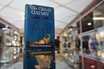 F. Scott Fitzgerald, Virginia Woolf, Ernest Hemingway, Franz Kafka and many more authors and artists have 1925 works entering the public domain on January 1. Above, a first edition of <em>The Great Gatsby</em> at the London International Antiquarian Book Fair in London in 2013.