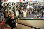 """The owner of Sellwood Cycle Repair, Erik Tonkin, isn't sure the boom in bike ridership will continue after the pandemic,  """"I don't think that we can expect the demand to quite last."""""""