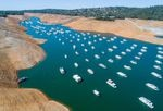 Hotter temperatures are causing Western snowpacks to evaporate, leading to less runoff reaching reservoirs, like California's Lake Oroville.