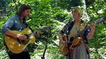 Joan Shelley and Nathan Salsburg at Portland's Marquam Nature Park.