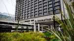 The DoubleTree by Hilton hotel in the Lloyd District of Portland, Oregon, Friday, Dec. 28, 2018.