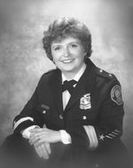 Penny Harrington, the first woman to become chief of the Portland Police Bureau