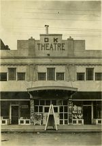 The OK Theater was built in 1918, and was used as a movie theater before Brann bought it in 2013.