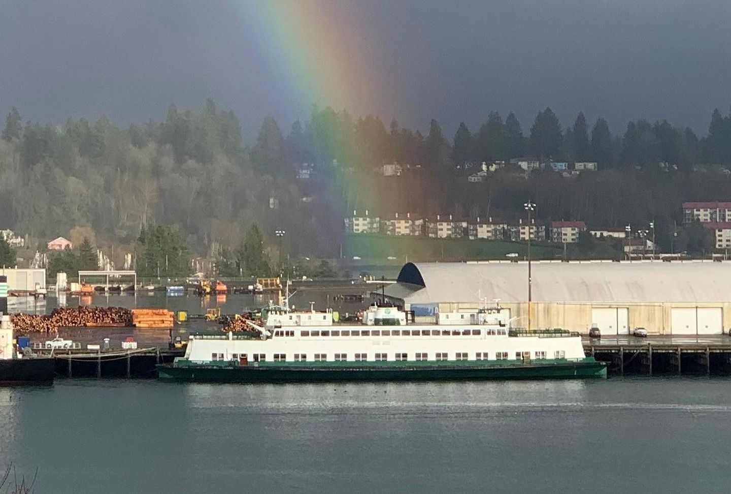Want A Really Big Houseboat Former Washington Ferry May Head To Auction Again Opb