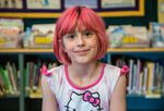 A portrait of Ava, part of the Class of 2025, taken in 2015.