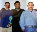 Juan Daniel Tristan, right, with his brother Paul, center, and nephew. Tristan was incarcerated for more than two decades and died this month, at 58, at the Salem Hospital. Prison officials took him from the Oregon State Penitentiary to the hospital on Dec. 26 where the hospital staff said he had multiple organ failure, pneumonia and sepsis, and tested positive for COVID-19.