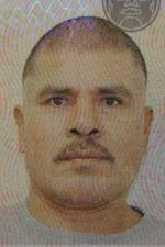 Foto del pasaporte de Zaragoza-Sanchez, 2015.