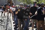Pro-Trump and pro-police demonstrators clashed with anti-fascist counterprotesters on the 87th day of protests against police violence and systemic racism. Despite violence in the streets, police were notably absent and never declared an unlawful assembly.