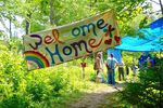 At the 2016 Rainbow Gathering in Vermont, thousands from all across the country flocked to the seven-day event.