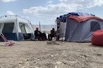 Tribal and environmental activists began camping at the site of a proposed lithium mine in protest earlier this year.