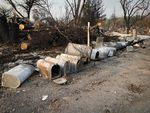The 2020 Almeda Fire destroyed thousands of mobile homes in Jackson County, including the Royal Oaks Mobile Manor in Phoenix, Ore.