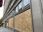 Wildfang, a feminist clothing store in downtown Portland, Ore., boarded up its windows after acts of vandalism on Wednesday, Nov. 4, 2020.
