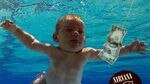 A image of the cover of Nirvana's Nevermind album shows a nude baby swimming towards a dollar bill, but is cropped to omit the baby's genitals.