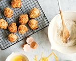 """Homemade Onion Skin Powder is the secret ingredient that gives depth of flavor to these easy Cheese and Onion Biscuits from Portlander Sarah Marshall's new cookbook, """"Preservation Pantry, Modern Canning from Root to Top & Stem to Core."""""""