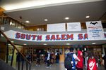Students walk the halls of South Salem High School in Salem, Ore., Tuesday, Sept. 17, 2019.