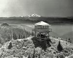 The Bull of the Woods Lookout was one of the most iconic historic lookouts in the Northwest, looking over this vista toward Mount Hood for nearly 80 years.