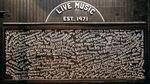 El exterior del local de música Exit / In en Nashville, Tennessee. Los clubes pequeños como este se encuentran entre los más afectados por los cierres por coronavirus.