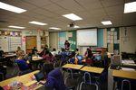 Class Of 2025 student Ethan's sixth grade math class at a Beaverton middle school.