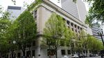 The Multnomah County Courthouse is pictured Saturday, May 25, 2019, in downtown Portland, Ore.