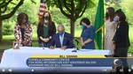 Gov. Jay Inslee on Tuesday signed into law a new capital gains tax and an expanded version of the state's Working Families Tax Exemption which has never before been funded.