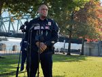 Portland Police Chief Chuck Lovell assured city residents on Thursday, Oct. 29, 2020, that his agency was equipped to handle any unrest or voter intimidation that may result from next week's general election.