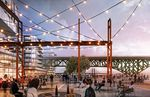 Charlene Zidell imagines an arts district that goes from Zidell Yards waterfront across the Tillikum Crossing to the OMSI development, connecting both sides of the river.